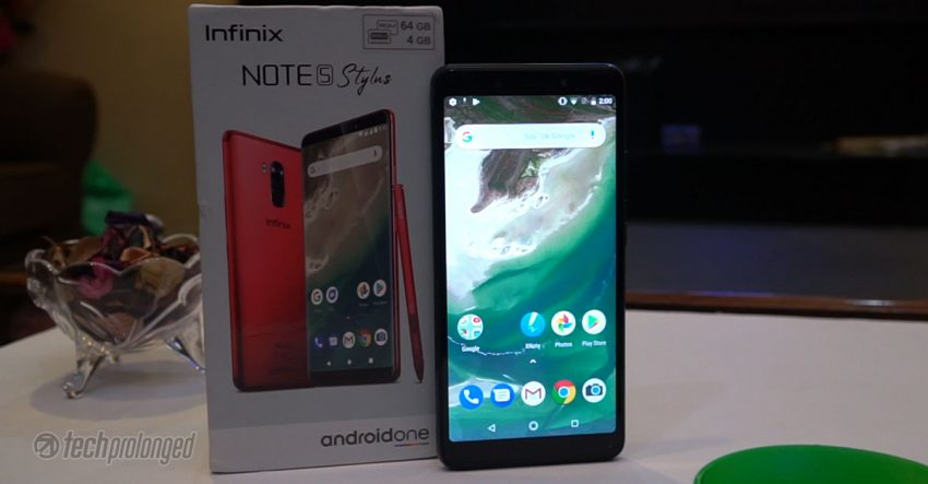 Infinix Note 5 Stylus Software