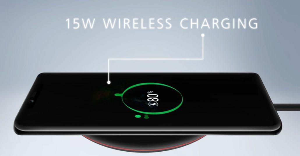 Mate 20 Pro Wireless Charging