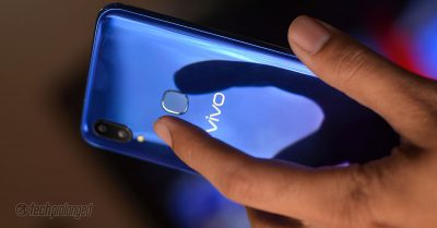 Vivo V11 - Rear-mounted Fingerprint Sensor
