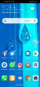 Huawei Y9 2019 Review Software UI
