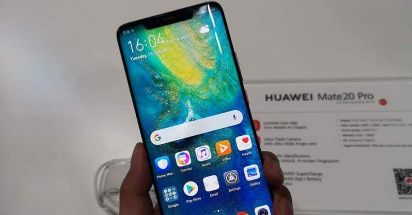Huawei Mate 20 Pro Display Issues
