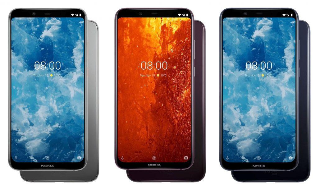 Nokia 8.1 Colours Availability