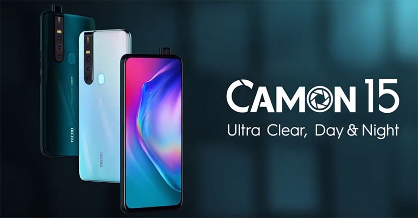 Camon 15 pakistan launch date